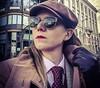 Lil (bof352000) Tags: woman tie necktie suit shirt fashion businesswoman elegance class strict femme cravate costume chemise mode affaire