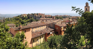 Perugia oozes with charm along the town walls