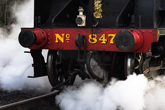 The golden age (hehaden) Tags: train engine locomotive steam srmaunsells15classno847 heritage bluebellrailway sheffieldpark sussex batis1885 e general carlzeiss sony