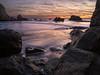 Pirates Cove Last Light (Anish Patel Photo) Tags: pirates cove rocks seascape ocean sunset