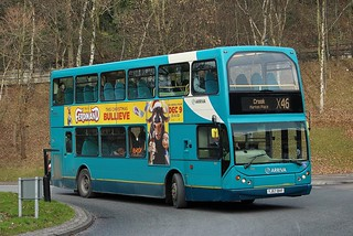 Arriva North East: 7455 / YJ57 BVF