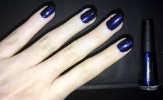 Mistérios do Destino (caumt) Tags: esmalte esmaltes avon azul mistérios do destino