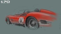 F Testarossa 2 s (Stefan Marjoram) Tags: sketch drawing ipad pro procreate apple pencil car vintage racing plein air