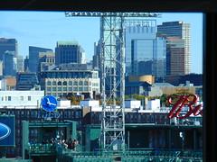 Fenway Park (Boston, Massachusetts) (jjbers) Tags: boston massachusetts fenway park baseball november 9 2017 tysco clock skyline city