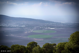 View from My. Tabor, Galilee