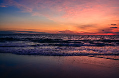 (tannerdouglass2013) Tags: sunrise northcarolina killdevilhills outerbanks nikon nikond7100 beachlife beach ocean waterandlight