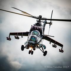 """Mil Mi-24 """"Hind"""" (Michael Tendler) Tags: xf100400mmf4556rlmoiswr aircraft airshow aviation bigginhill festivalofflight fuji fujifilm xt2"""