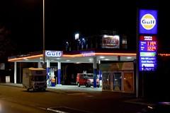 Gulf, Bootle Merseyside. (EYBusman) Tags: gulf petrol gas gasoline filling service station garage liverpool merseyside certs energy eybusman bridge road dunnings bootle