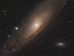 Messier 31 - The Andromeda Galaxy (Photonen-Sammler) Tags: messier andromeda galaxy deep sky photography stars nebulae cosmic dust astrophotography astronomy long exposure cooled ccd