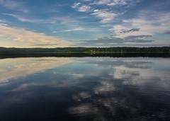 IMG_4332-1 (Andre56154) Tags: schweden sweden sverige see lake wasser water himmel sky wolke cloud landschaft landscape ufer spiegelung reflexion reflection