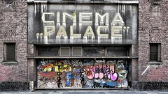 "Cinema ""Palace"" Maastricht (jo.misere) Tags: cinema palace wijck maastricht urbex verval verweerd graffiti colors kleuren"