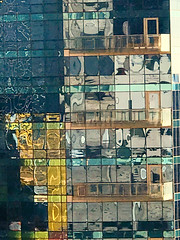 Reflections (mclcbooks) Tags: reflections windows architecture abstract jerseycity newjersey