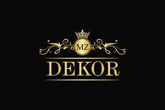 Dekor Luxury Logo (uniquedesign24) Tags: calligraphic classic classiclogo company crest crown curly decorative elegant emblem fancy fashion flourish hotel initial jewellery jewelrylogo letter luxuriouslogo luxury majestic majesty ornament queen realestate royal royallogo royalty salon swirl