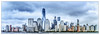 New York Skyline (Vladimir Grablev) Tags: view usa landscape big water newyork manhatten apple daytime summer towers travel buildings scenic skyscrapers hudson panorama cloudy skyline wide architecture jerseycity newjersey unitedstates us
