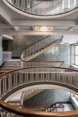 Overview (michael_hamburg69) Tags: hamburg germany deutschland treppe stair stairs stairway esplanade esplanadebau kontorhaus büro office artdeco jugendstil esplanade6