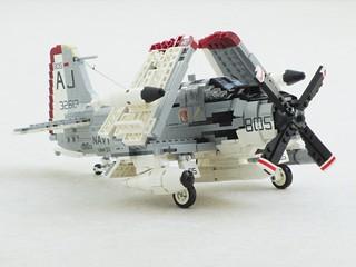 EA-1F Skyraider of VAW-33