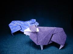 Sheep by Hideo Komatsu (ayako kobayashi) Tags: sheep origami hideokomatsu