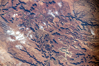 The maze of canyons, mesas, and mounds of the Canyonland National park in Utah