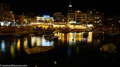 St Jualian Bay - Ph #lorenzomuscoso #malta #stpaulbay #night #valletta2018 #stjulian #lavalletta2018 #landscape #colors #sony #sonyalpha #sonyitalia (muscosolorenzo) Tags: instagram ifttt malta valletta valletta2018 stjulian gozo stpaul landscape boats culture suggestion feelings nature cities folk castle urban