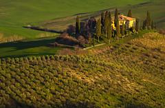 on the hill (Blende1.8) Tags: toskana tuscany tuscan landschaft toskanisch estate anwesen hill hills landscape haus hügel building nature tree trees carstenheyer nikon d5000 toscana