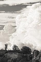 sous les nuages (wautierp) Tags: cloud nuages namur citadelle belgique ciel sky bw blackandwhite noiretblanc nb nikon