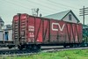 Over the Limit -2 (douglilly) Tags: centralvermont boxcar stalbans