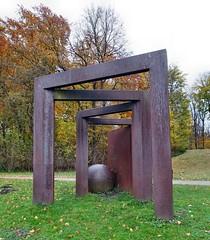 Kunst am Decksteiner Weiher (mama knipst!) Tags: kunst art decksteinerweiher köln cologne herbst autumn november
