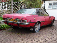 1974 Opel Commodore GS Auto (Neil's classics) Tags: vehicle abandoned 1974 opel commodore gs