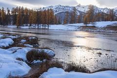 Automne lac du Roux-2 (jluclac) Tags: automne eau france french lacduroux lacs paysages queyras water lake