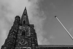 St. Wilfrid's Church (Charliebubbles) Tags: olympusem10markiii olympus1442mmez northwich davenham photoshopcc architecture church blackandwhite mono 2017 crewe cheshire unitedkingdom