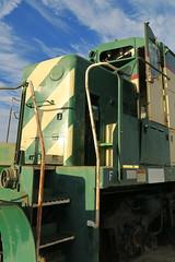 PIR's Open Door Policy (Arrowhead Fan) Tags: sdae pir pacific imperial railroad san diego eastern arizona baja california ca impossible idaho northern 4501 4500 4504 emd gp40 vandalism derilict