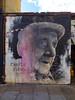 Charlie Burns 1915-2012 (Steve Taylor (Photography)) Tags: charlieburns raid1 benslow cap art graffiti portrait mural streetart memorial tribute black white pink man uk gb england greatbritain london unitedkingdom baconstreet