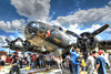 """Boeing B-17  """"Memphis Belle"""" (tkclip47) Tags: boeing b17 memphisbelle flying fortress wwii bomber famous combat hdr warbird usaaf"""