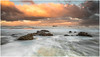 Sky and Rocks (Steven Peachey) Tags: seascape sky clouds sea sun water beach rocks light tide hightide exposure canon lightroom ocean ef1740mmf4l 5dmarkiv canon5dmarkiv leefilters lee09gnd graduatedndfilter formatthitech northeastcoast northeastengland seaham chemicalbeach durhamheritagecoast stevenpeachey sunset