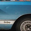 New Yorker in Sky Blue (Zach K) Tags: newyorker new yorker nyc brooklyn chrysler car auto mobile automobile aqua blue powerblue skyblue little dented but still nice cute fujifilm fuji x100f