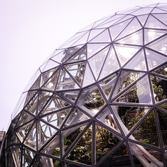 1/4 Bubble #amazon #seattle (Dan Hogman) Tags: danhogman architect architecture danhogmanxpro2 fujifilm seattle washington