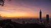 Taipei Sunset. (de.bu) Tags: asia asien taiwan taipei taipei101 taipeh sunset hdr highdynamicrange olympus omd mzuiko12100f4 architecture architektur travel vacation china republicofchinataiwan cityscape city
