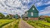 typical fisherman village houses in Marken island (altextravel) Tags: netherlands typical amsterdam architecture beautiful building calm canal city colorful country countryside culture dutch europe european exterior famous farm green historic history holland home house island landmark landscape marken nature nobody old orange panoramic reflection river rural scene schans sky style tourism traditional travel urban water waterland wittewerf wood zaanse