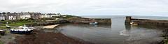 Craster Harbour (Worthing Wanderer) Tags: northumberland july overcast summer coast seaside castle beach dull