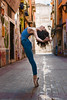 Zaragoza street dance project - Calle Maestro Luna (jmsoler) Tags: ballet portrait color street dance zaragoza mujer 2017 jmsoler nikkor2470mmf28 woman gente girl calle bailarina ballerina españa nikond800