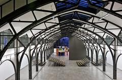 - the big hall - (-wendenlook-) Tags: colors color architektur architecture berlin hamburgerbahnhof museumfürgegenwart sony a7ii 3528 35mm 125 f56 iso400