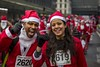 Glasgow Santa Dash 2017 (Leanne Boulton) Tags: glasgowsantadash2017 santa christmas charity event people urban street candid portrait portraiture streetphotography candidstreetphotography streetportrait streetlife eyecontact spontaneous man woman male female boy girl face faces expression emotion look feeling mood happy happiness smile smiling hand gesture thumbsup santaclaus fatherchristmas costume outfit cosplay santadash tone texture detail depthoffield bokeh naturallight outdoor light shade shadow city scene human life living humanity society culture canon canon5d 5dmarkiii 70mm ef2470mmf28liiusm bright red color colour glasgow scotland uk