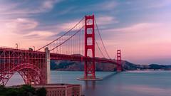 Sunset at the Golden Gate Bridge (jcjocom) Tags: sanfrancisco goldengatebridge jcjocom