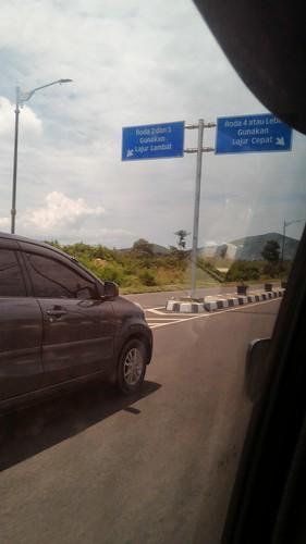Transfer from Sekotong via Mataram to Senaru, Lombok, Indonesia