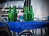 ¿Por qué no hoy? (Luicabe) Tags: airelibre asturias bar botella cabello enazamorado exterior fiesta luicabe luis mantel mesa sidra silla vaso vidrio yarat1 zamora zoom ngc