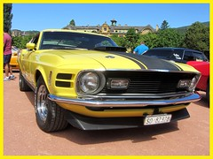 Ford Mustang Mach 1, 1970 (v8dub) Tags: ford mustang mach 1 1970 schweiz suisse switzerland neuchâtel american muscle pkw pony voiture car wagen worldcars auto automobile automotive old oldtimer oldcar klassik classic collector