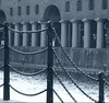 Colonnades, Albert Dock (ronramstew) Tags: liverpool merseyside uk dock docklands buildings mono monochrome colonnades albertdock