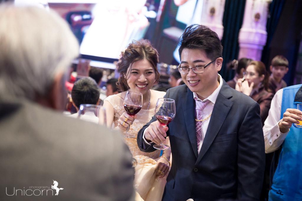 《婚攝一条》易鑫 & 甄蔚 / 皇潮鼎宴