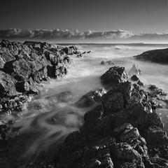 Looking out to Sea (pedalpusher139) Tags: blackandwhite longexposure beach sea coast landscape outdoors