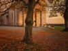 Il vespro... (@oloarge) Tags: monrupino colore color oloarge tramonto sunset autunno autumn chiesa church